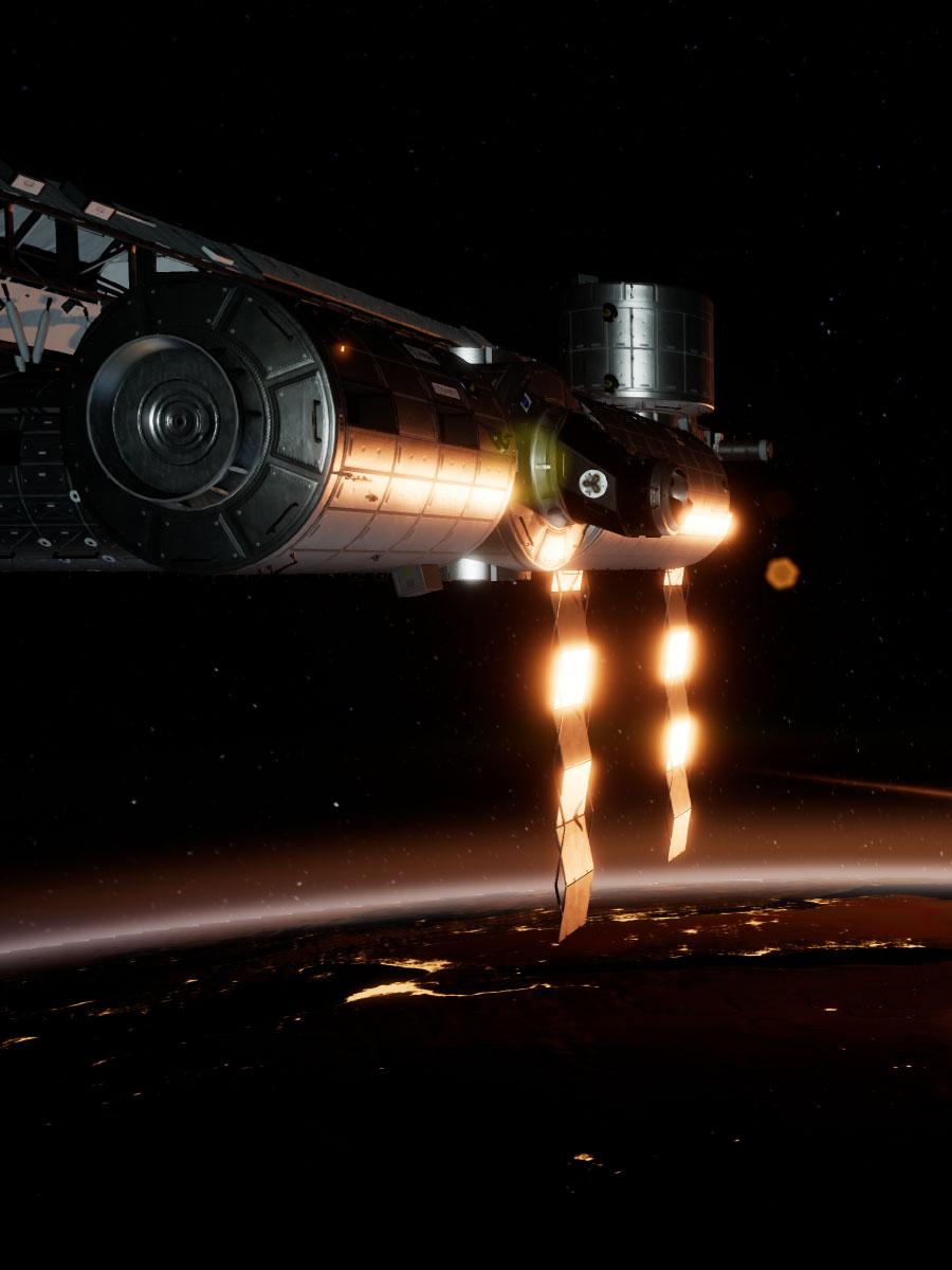 Jeu réalité virtuelle ISS Rescue I-REALITY